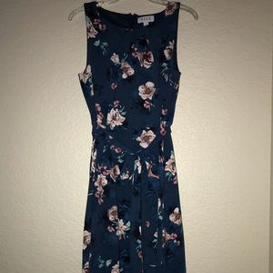 Worn only once floral dress
